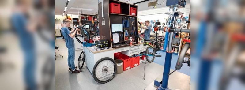 Initiative gestartet, um Personalmangel in der Fahrradwerkstatt zu lindern.