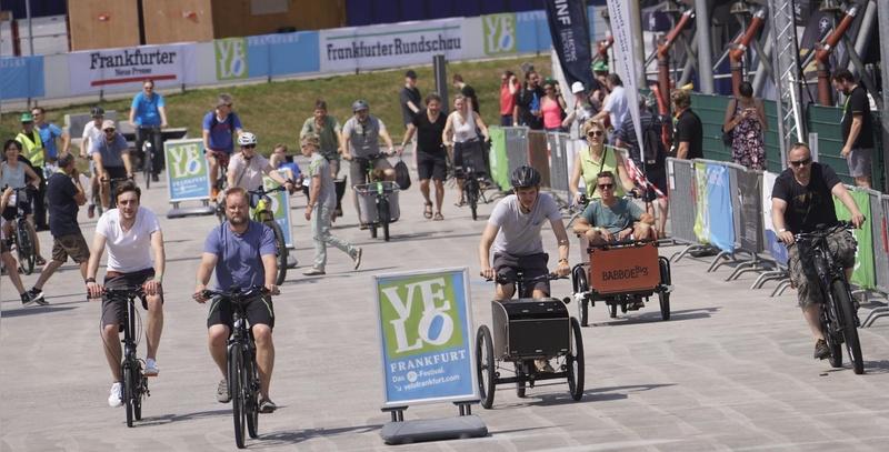VeloFrankfurt setzt auf ein Open-Air-Konzept im August