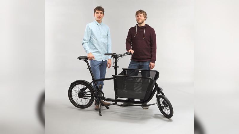 Die Brüder Sören und Jonas Gerhardt überraschen die Lastenradbranche mit ihrem Muli dank schlauer Technikkniffe.