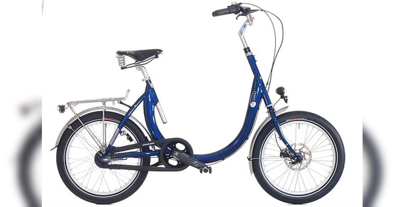 Das Rad ist für eine Zuladung bis 150 kg zugelassen.