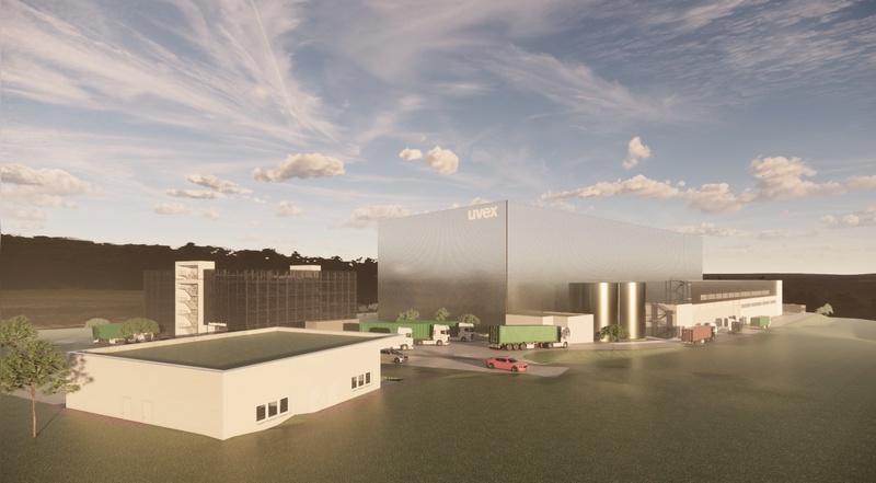 Neues Logistk- und Servicezentrum wird gebaut.