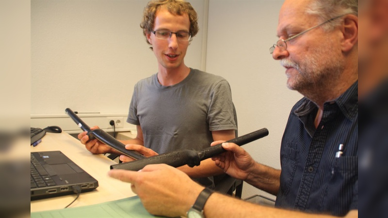 Thomas Mertin hat zwar die Ideen, deren Umsetzung ist dann aber meist Teamwork.