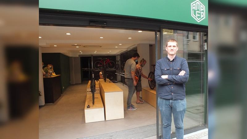Hannes Laar ist einer der Gründer und technischer Direktor von Ampler Bikes