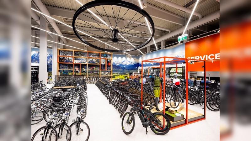Bike-Flagship-Store in Stadlau