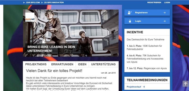 ZEG/Eurorad suchte auf der ISPO-Plattform nach Vermarktungsstrategien für E-Bike-Leasing