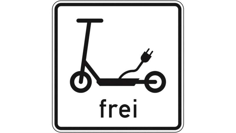 Das Schild »Elektrokleinstfahrzeuge frei« ist bereits seit neuestem vorhanden, eines für Lastenräder soll noch folgen.