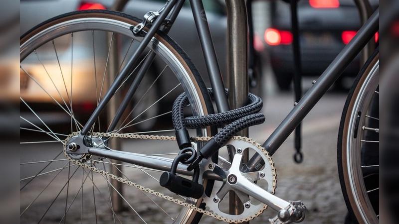 Flexibles, leichtes Fahrradschloss