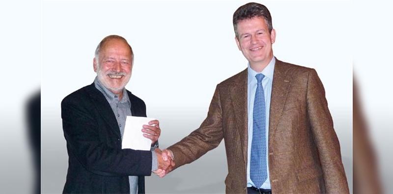 Gallus Komenda gibt den Stab weiter an Dr. Andreas Gubler