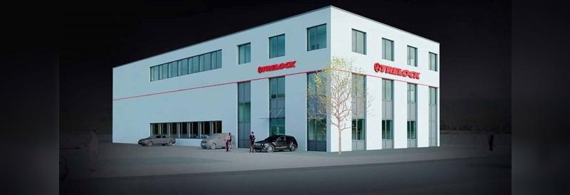 Das Produktions- und Logistikzentrum wurde im Jahr 2014 neu gebaut.