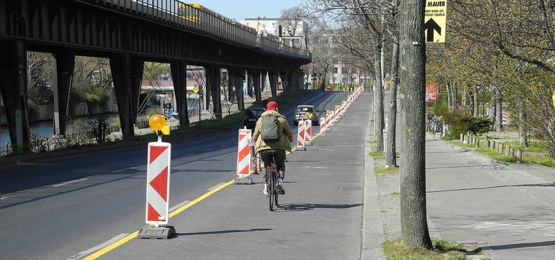 Tauziehen um Pop-up-Radwege in Berlin