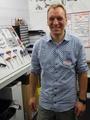 Thorsten Larschow hat lange an der Organisation der Werkstatt getüftelt und ist mit dem Ergebnis sichtlich zufrieden.
