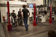 Blick in die Werkstatt bei Fahrrad Denfeld