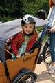 Zur Kita, zum Spielplatz ... Viele Kinder lieben die Fahrt im Cargobike