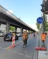 Pop-Up Radweg in Berlin