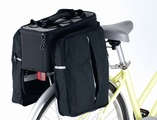 """Die Fahrradgepäcktasche """"Rack Bag"""" ist ein idealer Begleiter im Sommer."""