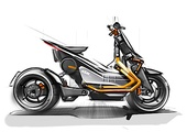 Im Rahmen des Projekts EMotion wird ein neue Generation von E-Zweirädern entwickelt.