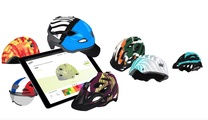 helmade hat sich auf die Personlisierung von Motorrad- und neuerdings auch Fahrradhelme spezialisiert