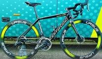 Das neue Sportgeraet des UCI-Profi Teams Vini Zabu.