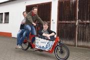 Spaß mit der Dynamik, die sie mit ihrem Unternehmen an den Tag legen: Frank Hohmann,  Andreas Muth-Hegener und Eike Cepa.