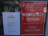 In der Schweiz heißt es weiterhin im Fahrradhandel: Werkstatt offen, Verkaufsraum geschlossen.