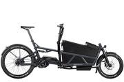 """Fahrrad mit """"Kofferraum"""": Vor allem in der Stadt koennen Cargobikes den Pkw ersetzen."""