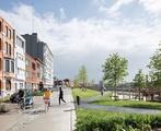 Die Vision eines besseren Lebensraums wird zum Beispiel beim Radschnellweg im Park Belle-Vue in Leuven überdeutlich.