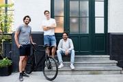 Die Cowboy-Gründer Karim Slaoui, Tanguy Goretti und Adrien Roose (v.l,)