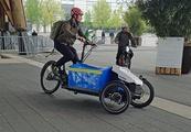 Cargo-Bike-Aufbau von Sortimo