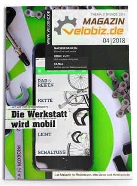 Titel velobiz.de Magazin 4-18