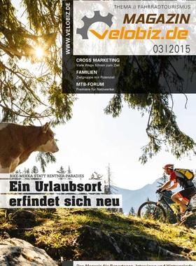 velobiz.de Magazin Ausgabe 3-15, Thema: Fahrradtourismus