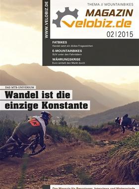 velobiz.de Magazin Ausgabe 2-15, Thema: Mountainbikes