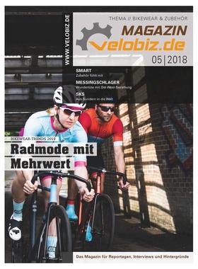 Titel velobiz.de Magazin 5-18