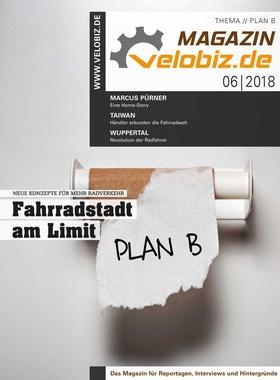 Titel velobiz.de Magazin 6-18